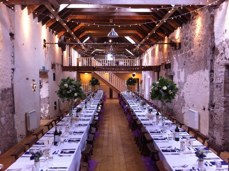 Bachilton Barn Setting Wedding Venues Scotland