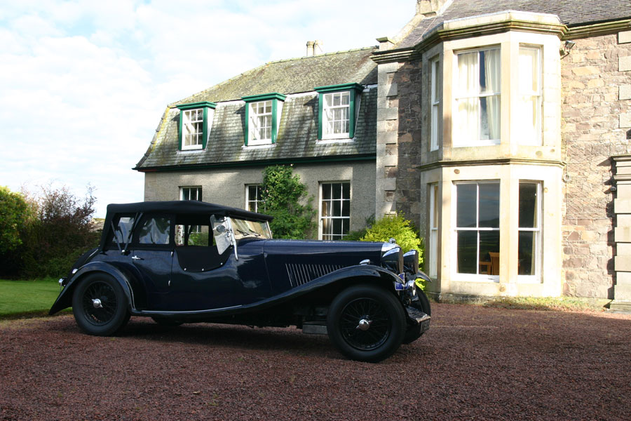 Lagonda at Cormiston Farm